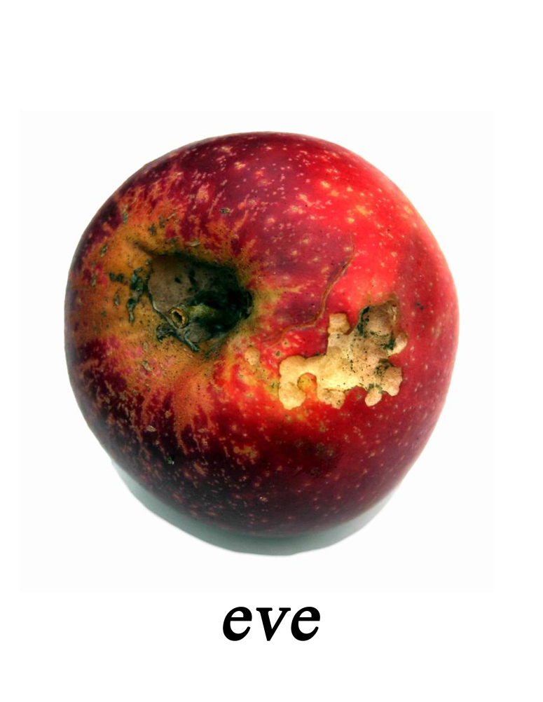 Eve: Image of a rotting apple